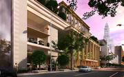 A rendering of the Provence as seen from the Callowhill Street side.