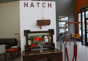 The Hatch incubator space is a definitive Portland project in that it a) features repurposed and otherwise sustainably produced materials in a space for b) socially minded startups. The space is set to formally open Thursday. Click through for a look at Hatch's finished touches.