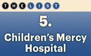 No. 5 Children's Mercy Hospital  United Way funding: $712,686  Location: Kansas City For more information, check out the 2014 top United Way recipients available to KCBJ subscribers.