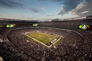 MetLife Stadium seats 82,500 fans. There are no corners in the stadium's seating bowl and each individual seat is pointed directly toward the 50-yard line.