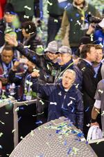 Seahawks celebrate Super Bowl win at MetLife Stadium (Slide show)
