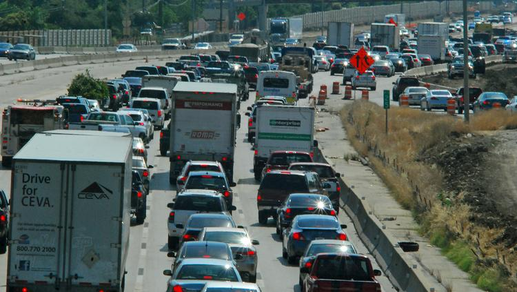 Drivers in the Dallas-Fort Worth area face the longest drives to work in Texas.
