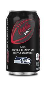 Coca-Cola commemorates Seahawks Super Bowl win