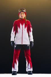 The Canadian snowboarders will also sport Under Armour at the Sochi Games.