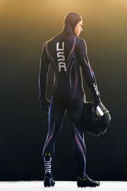 The U.S. skeleton team's uniforms were tested in a wind tunnel during a two-year period.