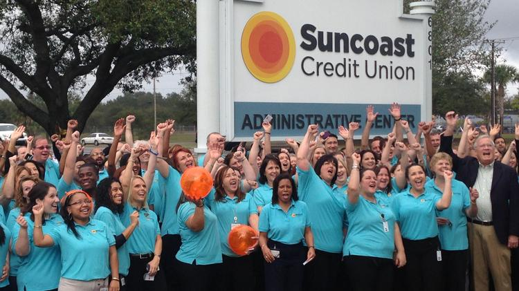 Suncoast Credit Union Locations >> Suncoast Credit Union Plans Hundreds Of New Jobs Tampa Bay