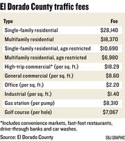 El Dorado County traffic fees