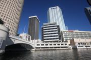 Park Tower, nestled among other buildings in Tampa's skyline today.
