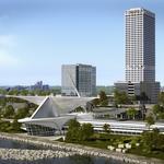 East Town engine: Employees, residents follow development