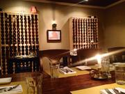 Private dining room with wine racks aplenty make you forget you're in a strip mall on Washington Boulevard