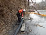 Duke cuts Dan River spill estimate; health advisories issued