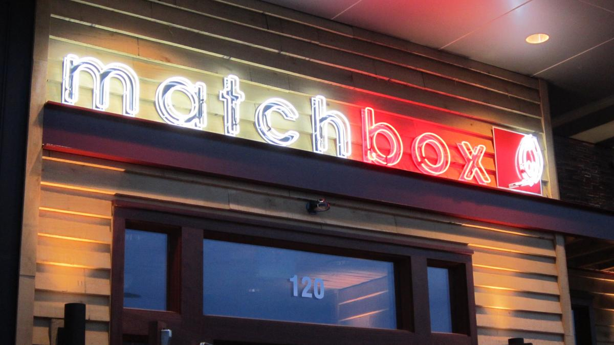 Matchbox Food Group, nine restaurants file for chapter 11 - Washington Business Journal