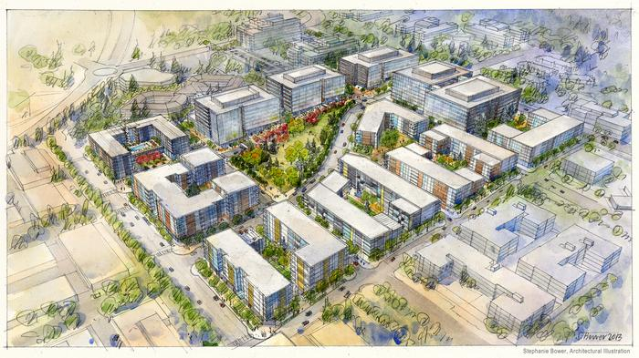 Slack demand for office space means lots more housing at $900M development by Microsoft