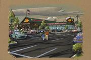 Bass Pro Shops plans to open a store in Rocklin. This is a rendering of a Bass Pro Shop elsewhere.