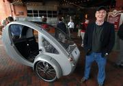 The newest player in Oregon's growing EV manufacturing landscape is Organic Transit, which is not only looking to market its unusual vehicles here, it could even build them locally. The line starts here for test drives.