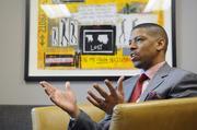 "Mayor Kevin Johnson said, ""I want government to be accountable, nimble."""