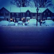 If you aren't worried about shoveling or brushing off snow, it can look peaceful.