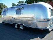 """""""This brand has survived for 83 years only by reinventing itself for each generation,"""" CEO Bob Wheeler says. Pictured is a 1974 Airstream Overlander."""