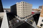 The first two floors of the former federal office building at 517 Gold Ave. SW is being converted into studio apartments. Developer Anthony Mehran paid $1.51 million for the building, which has been vacant for more than a decade.