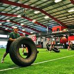 Carolina Panthers receiver, OrthoCarolina ready for training