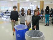 Cincinnati Public School's Ready, Set, Recyle  Districtwide recycling was implemented for the 2013-14 school year with the help of Keep Cincinnati Beautiful and other community partners who provided the tools necessary to make single stream recycling a reality.