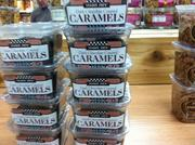 Dark Chocolate Covered Caramels