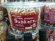 Oatmeal Cranberry Dunkers