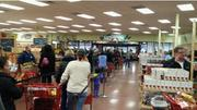 Line at the Greenwood Village Trader Joe's