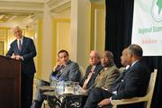 Washington Business Journal Publisher Alex Orfinger moderated the panel.