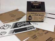 BCM Inks' post-consumer recycled inks BCM Inks has developed a water-based flexographic black ink for the direct-print corrugated market which utilizes liquid ink recovered from recycled inkjet cartridges.