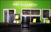 SimplyFresh Dry Cleaners  SimplyFresh's entire operation is free of perchloroethylene – a cleaning solvent commonly used by most dry cleaners that has been ruled a toxic carcinogen. The company also uses Converta bags, reusable all-in-one laundry and garment bag for dry cleaning, which helps decrease the usage of plastic in landfills.