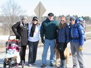 A group from Briohn Building Corp. brought the energy, and cold-weather gear, to their efforts