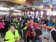 Participants enjoyed plenty of refreshments in the clubhouse after the event.