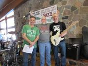 Bandmates on the day were (from left) Scott Bush, vice president of operations at Greater Milwaukee Association of Realtors; Ray Fister, president at 5th Floor Recording and Life Between the Vines; and Kirk Tatnall, area guitar instructor.