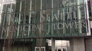 Even the city's own sign at Seattle Municipal Tower would not have been permitted, opponents of the law said.