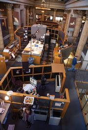 The second floor of the main Creative Alliance work space at the Kentucky Home Life Building.
