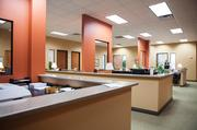 An open working space inside the Hilliard Lyons Olympia Park office is shown here.