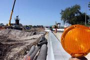 Interstate 275 construction between Dale Mabry and Lois