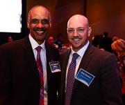 Dr. Reginald Mason with Kaiser Permanente and Rod Reasen with Healthiest Employer.