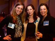 Roxann Miller with Northwestern Benefit Corp,  Brandy Garrow with Sibley Heart Center Cardiology and Camry Blaising with Northwestern Benefit Corp.