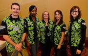 Alan Thompson, Giselle Nix, Cindy Green, Nancy Harrelson and Mary Brehl all with Automation Direct.
