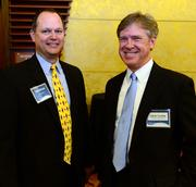 Jack Bruce with BIS benefits and Jack Curtis with Corporate Health Partners.