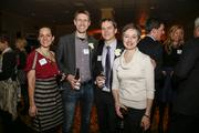 (From left) Ann Vermut, 40 under 40 winner McGee Young of Marquette University/H2Oscore, 40 Under 40 winner Ben Gramling of the Sixteenth Street Community Health Center and Nicole Gramling