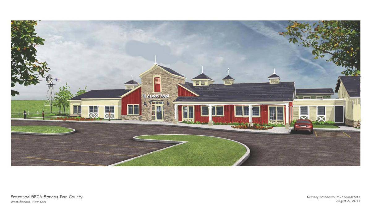 SPCA Serving Erie County prepares for April 10 grand opening