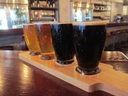 "Heavy Seas serves ""fleets"" instead of ""flights"" of several small tasters of beer."