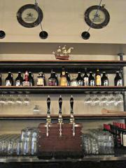 The beverage program includes the ability to be serving three cask ales.