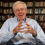 Charles <strong>Koch</strong>'s new book out Tuesday