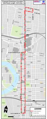 COTA to offer free rides between Short North and German Village on downtown circulator