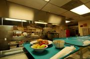 The kitchen at ECS.
