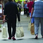Yep, it's cold. Here's why that's good for Seattle-area retailers